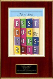new york doctors award dr neil m sperling 2016